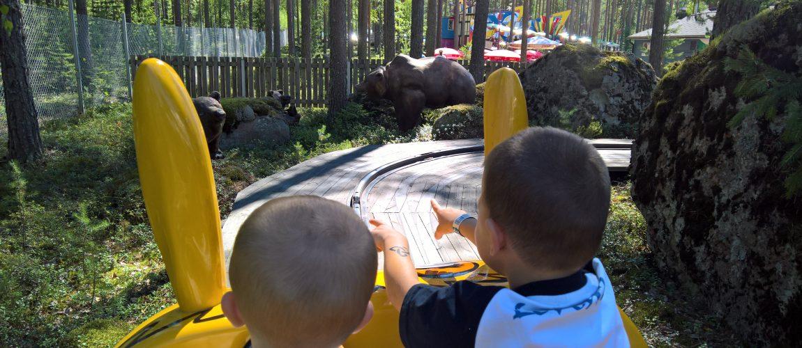 Una giornata indimenticabile al Tykkimaki amusement park